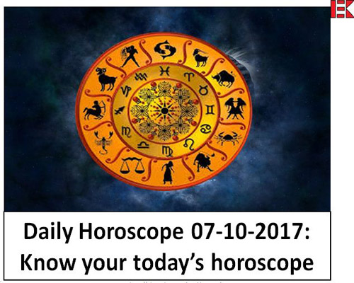 Daily Horoscope 07-10-2017: Know your today's horoscope