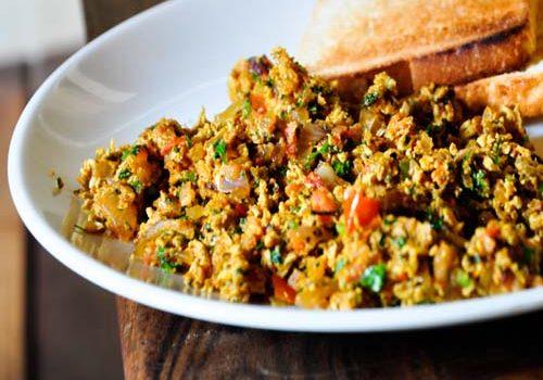 Recipe for delicious Egg Bhurji