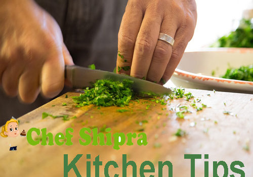 Useful kitchen tips that reduce your kitchen timings