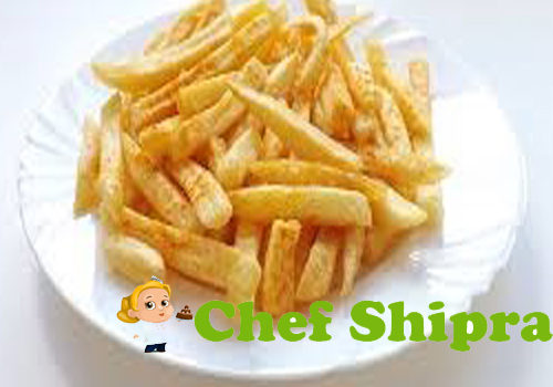 Make Crispy Baked Potato Fry In Oven